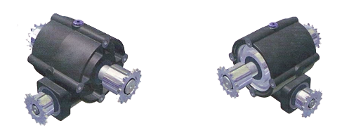 Worm Wheel Gearboxes W240 for greenhouse